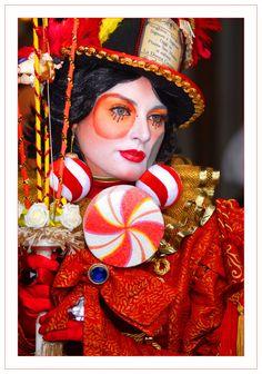 Carnevale di Venezia - La donna cannone