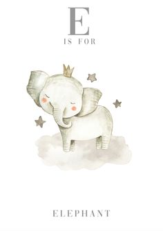 Watercolour artwork perfect for your little one's nursery or bedroom. These prints are adorable with watercolour animals and light grey font. These prints would be a perfect Baby Shower, New baby and birthday gift. Watercolor Animals, Watercolor Print, Watercolor Artwork, Kids Prints, Baby Prints, Animal Nursery, Nursery Art, Vintage Baby Pictures, Baby Illustration
