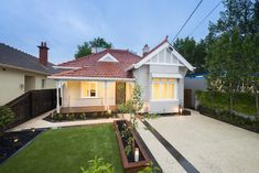 A fantastic renovation by Sier Constructions - Perfect! Brighton, Shed, Australia, Construction, Outdoor Structures, Cabin, House Styles, Beautiful, Building
