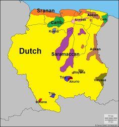 Languages of Suriname