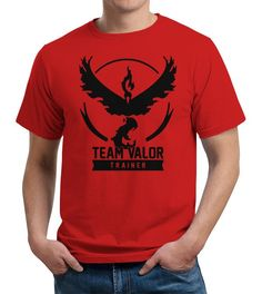 Pokemon Go Team Valor T-Shirt
