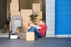 There are pros and cons to renting a self storage unit. I know this from personal experience. Some things you should know before renting a storage unit. Self Storage Units, Storage Spaces, House Removals, Secret Storage, Moving And Storage, Storage Facility, Moving House, Own Home, Storage Organization