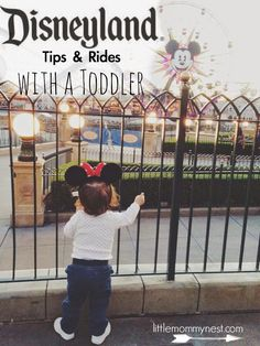 Disneyland With A Toddler @tylermarines There are rides you can take infants/toddlers on!!