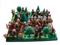 Romans vs. the Picts by Izmael10 on Brickshelf