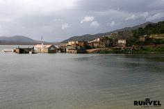 Battle between water and stone..Sfendyli, Hersonissos, Crete, Greece #crete #hersonissos #myhersonissos #runvel #travelblog #visitgreece #greece #landofexperiences