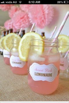 pink lemonades! cute!!!