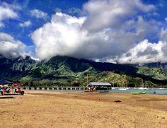 #Hanalei Bay Pier, #Kauai, #Hawaii