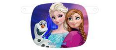 Laat een tekstslinger of naamslinger maken bij Slingerland Tekstslingers met als spatieafbeeldingen Disney Frozen