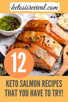 Try these amazingly easy keto salmon recipes now! Be captivated by these low-carb recipes and make these ketogenic salmon meals guilt-free. Catch the recipes on this pin! #ketomeal #lowcarbmeals #ketodiet #ketosalmonrecipe #salmonrecipes