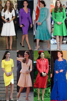 ¡Kate Middleton se va a Canadá! Ponemos nota a sus últimos looks. Noticias de Casas Reales