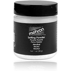 Mehron Makeup Ultra Fine Setting Powder NEUTRAL – 1oz Shaker Jar ** To view further for this item, visit the image link. (This is an affiliate link and I receive a commission for the sales)