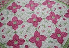 Sweet Sweet Emma PDF Quilt Pattern Designed by Kristin Andersen – Sisters & Quilters Baby Girl Quilts, Girls Quilts, Children's Quilts, Batik Quilts, Quilt Baby, Quilting Projects, Quilting Designs, Quilting Ideas, Sewing Projects