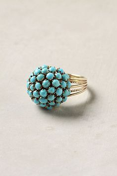 #turquoise #ring....would love that!