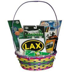 Lacrosse Easter Basket - Boys Lacrosse