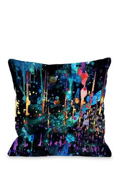 Oliver Gal by One Bella Casa Darkest Hour Pillow