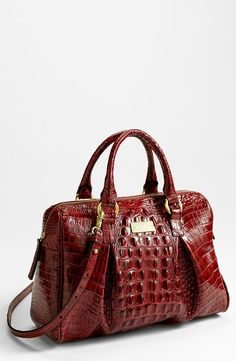 3b20c4d0cfc Brahmin  Mitchell  Satchel (Nordstrom Exclusive) Ruby One Size