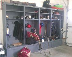 Custom Built Storage Lockers - Newton MA - traditional - garage and shed - boston - Woodbourne Builders Inc