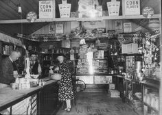 Bob Williams' shop, Carp Street, Bega NSW 1938