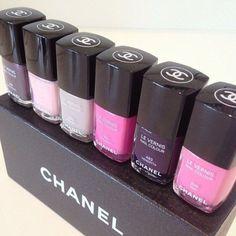 Chanel nail polishes!