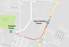 BMRCL Drops Bangalore Metro's Whitefield Station from Phase 2 Map The Metro Rail Guy - The Metro Rail Guy