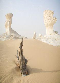 clitography:  White Desert - Farafra - Egypt