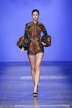 African Inspired Shorts. #Africanfashion