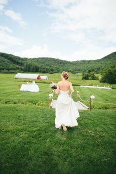 Rustic Wedding On A Farm