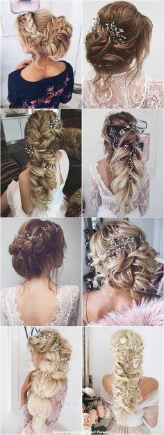 Coiffure De Mariage : 65 New Romantic Long Bridal Wedding Hairstyles to Try / Ulyana Aster www.ulyanaa...