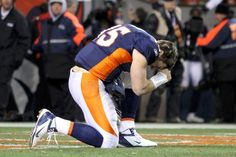 QB Tim Tebow has openly expressed his Christian faith. He had painted the verse John 3:16 (and many other verses) under his eyes during his college years. In last night's game he passed for 316 yards against the Steelers, and set an NFL playoff record with 31.6 yards per completion. Pretty neat! Still a loyal 49er gal, but I am also rooting for Tim to have a great year and keep up the great testimony!