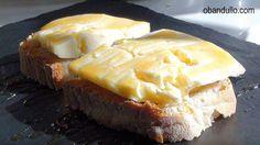 O Bandullo - Recetas de cocina en vídeo: Tosta de Pan de Cea con Queso de Arzúa - Ulloa y M...