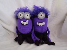 Minions (evil version) by Stana's critters etc | Project | Knitting / Toys |