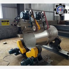 Stainless steel tank polishing machine_Metal Polishing/ Buffing Machine For Sale Rolling Table, Stainless Steel Tanks, Beams, Engineering, Industrial, Home Appliances, Polish, Construction, Tools