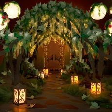 An Enchanted Forest Prom theme is the hottest choices for this year's Prom. Here are all the essentials you'll need to create an amazing Enchanted Forest theme. Enchanted Forest Prom, Enchanted Forest Decorations, Enchanted Garden, Enchanted Evening, Enchanted Forest Bedroom, Prom Decor, Wedding Decorations, Wedding Themes, Tree Decorations