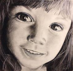 Sara (SPAIN) Charcoal Drawing / Dibujo al carboncillo