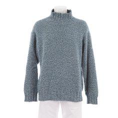 Toller Pullover von Malo in Blau Gr. 50 - 100% Kaschmir