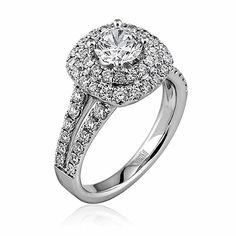 Stunning engagement ring - Parris Jewelers - Hattiesburg, MI : bridal rings