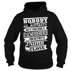 SCHEIDERER Pretty - Last Name, Surname T-Shirt