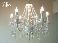 ENTIRE PAGE of Chandelier makeovers