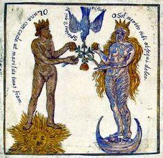 Alchemy manuscript