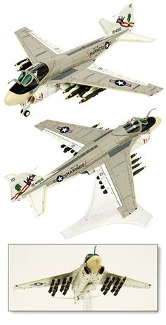 Grumman Intruder and Prowler scale model planes, plastic model planes, Jet Fighters mahogany models, and die cast Military Fighter Jets model airplanes. Us Military Aircraft, Military Jets, Fighter Aircraft, Fighter Jets, Grumman Aircraft, Bomber Plane, F22, Military Modelling, Military Diorama