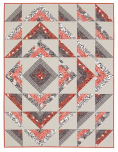 Ripple Quilt by Jessica VanDenburgh, Sew Many Creations