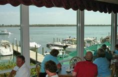 Green Flash Waterfront Restaurant on Captiva Island, Florida    They have the best fried grouper ever!