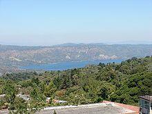 Lac Ilopango — Wikipédia