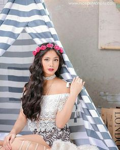 Would you like hair care tips? Ylona Garcia Outfit, Blue Purple Hair, Filipina Beauty, Asian Hair, Hair Care Tips, Pretty Face, Star Fashion, Asian Woman, Korean Fashion