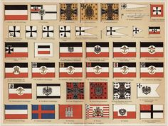 In Royal Style : Flags of the German Empire