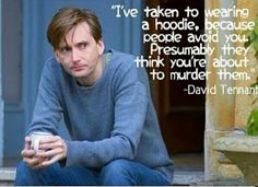 Oh David Tennant. You're awesome and people know this. Get over it.