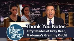 Thank You Notes: Fifty Shades of Grey Beer, Madonna's Grammy Outfit