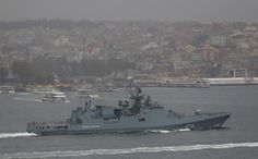Russia has deployed its newest cruise missile frigate to the Mediterranean