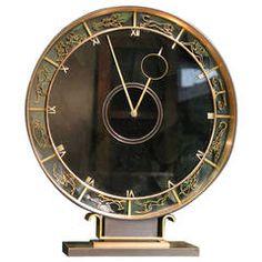 Wonderful Art Deco Zodiac Mantle Clock