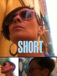 Pelo corto // short hair